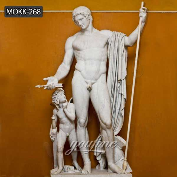 Famous Statue Mars and Cupid by Bertel Thorvaldsen for Sale MOKK-268