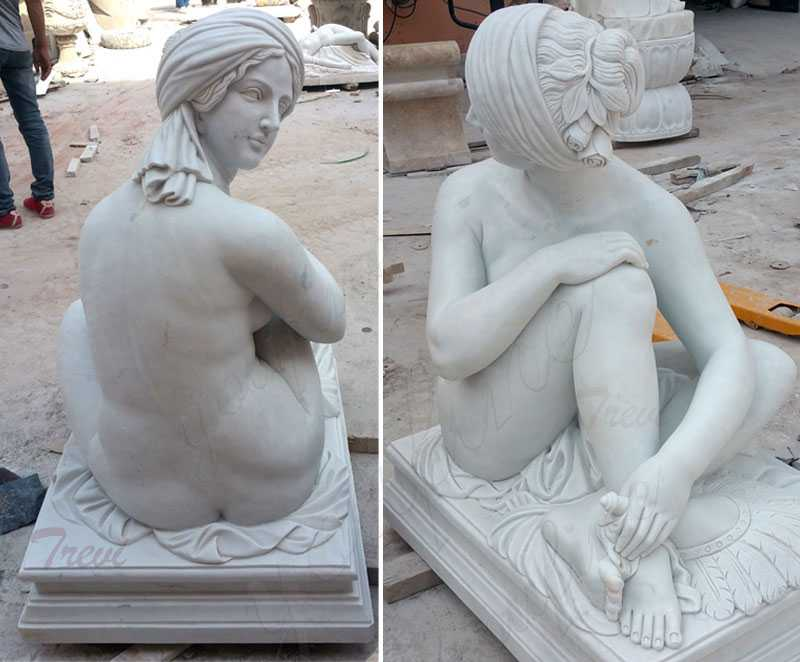 Famous-art-life-size-stone-sculpture-James-Pradier-from-Odalisque-to-sale-2