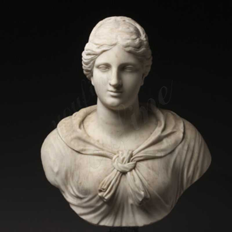 Famous-art-sculptures-Italian-Grand-Tour-Marble-Bust-of-Diana-or-Artemis-for-indoor-decor-2