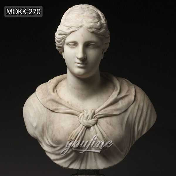Famous-art-sculptures-Italian-Grand-Tour-Marble-Bust-of-Diana-or-Artemis-for-indoor-decor-5