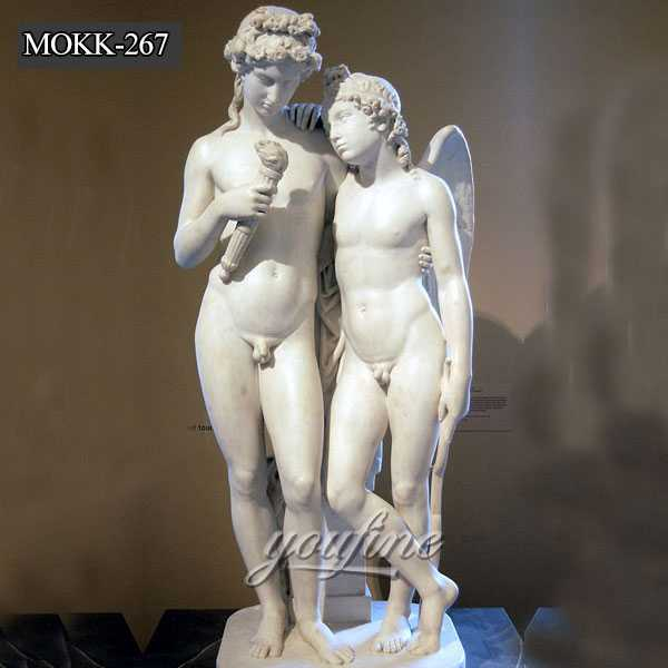 The Replica Marble Carving Cupid Kindling the Torch of Hymen for Sale MOKK-267