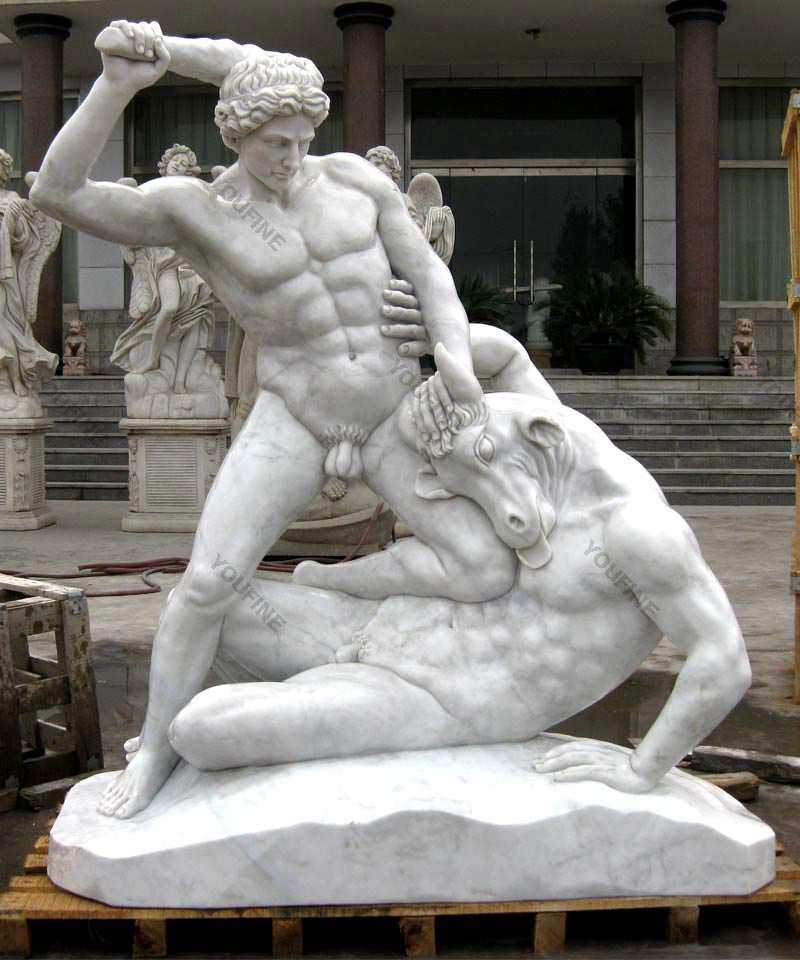 Farnese Hercules Marble Sculpture for sale
