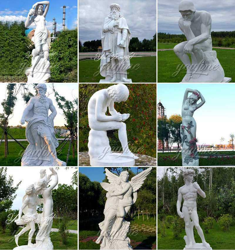 Farnese Hercules Marble Sculpture