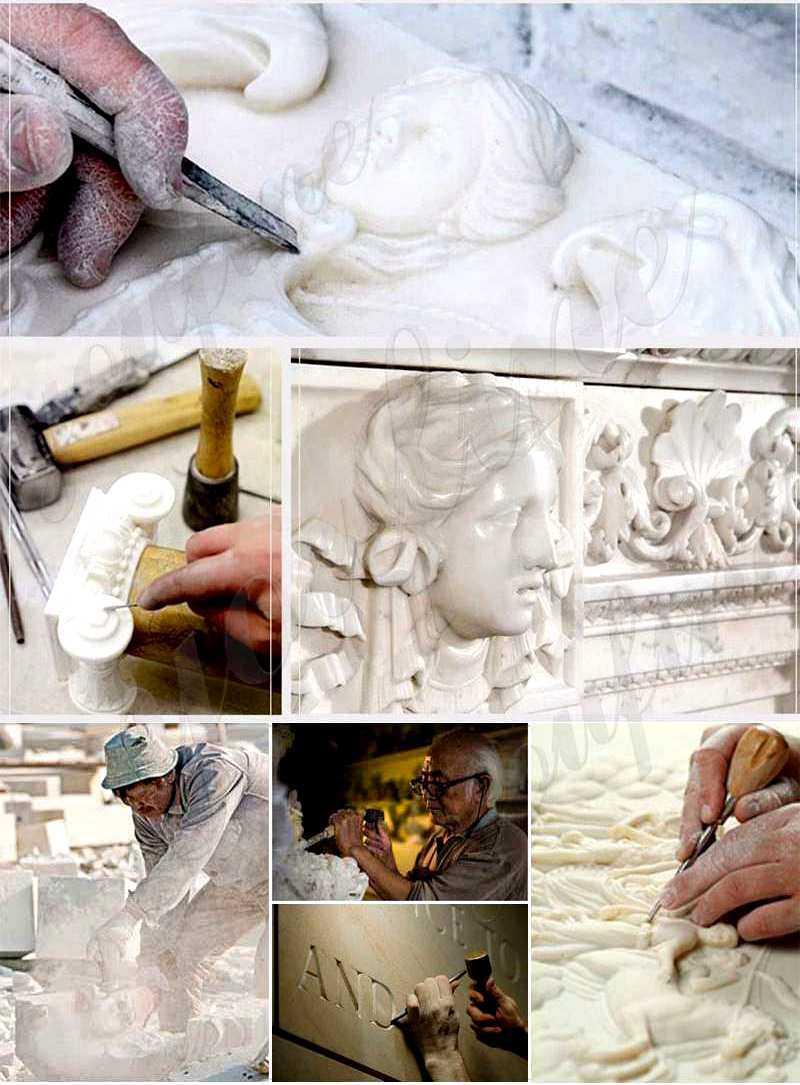 Farnese Hercules Marble Sculptures