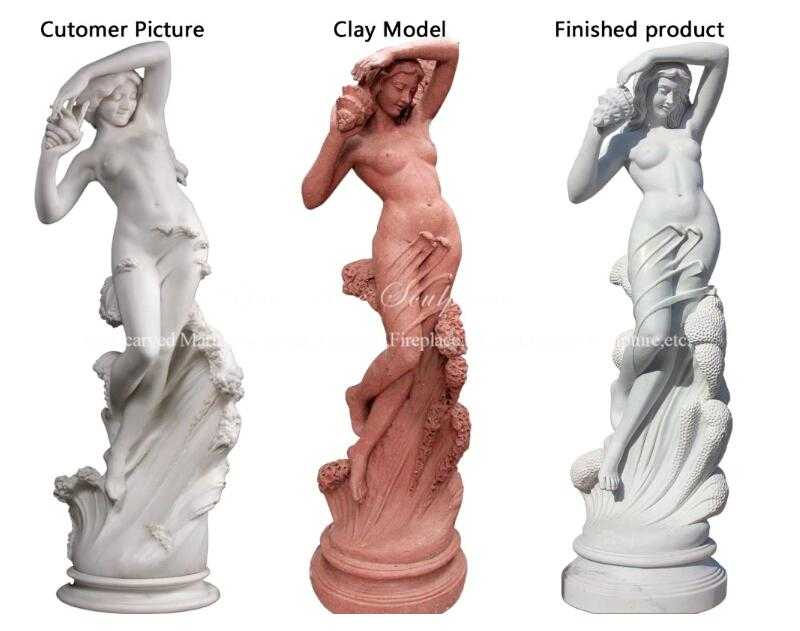 Female Statue Nude Statue Sculpture for Sale