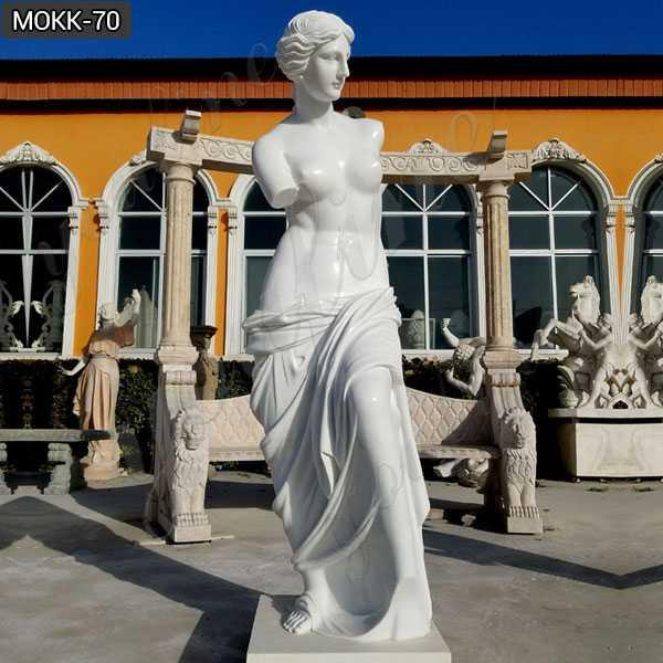 Famous Life Size Venus De Milo Marble Aphrodite Statue for Sale MOKK-70