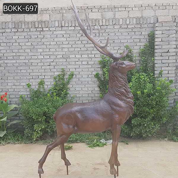 bronze deer statue for sale