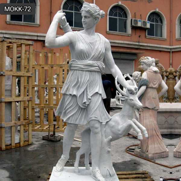 Marble Greek Mythology Artemis Statue for Sale for Home Decor Gift Idea MOKK-72