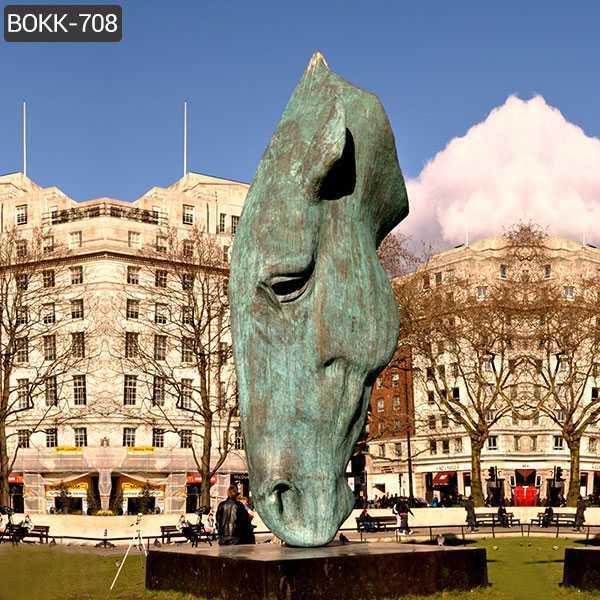 famou still water equestrian horse statue replica for sale