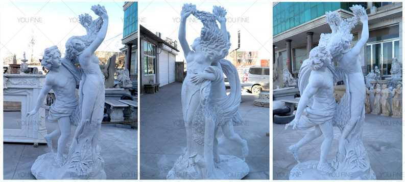 famous marble Apollo and Daphne statues for garden for sale