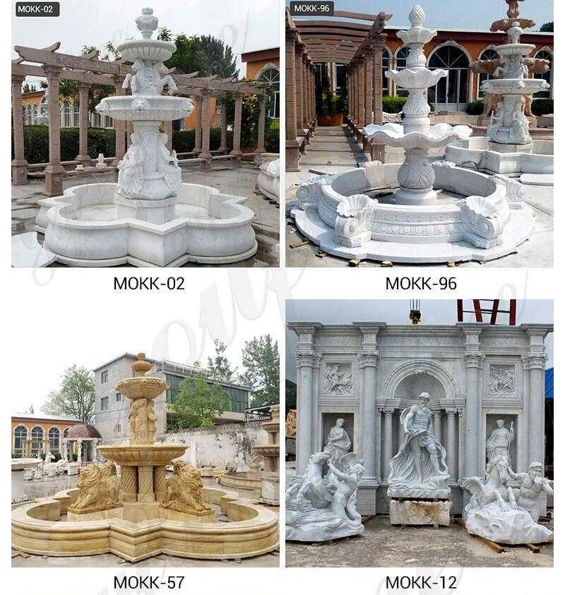 hand carved water fountain for sale