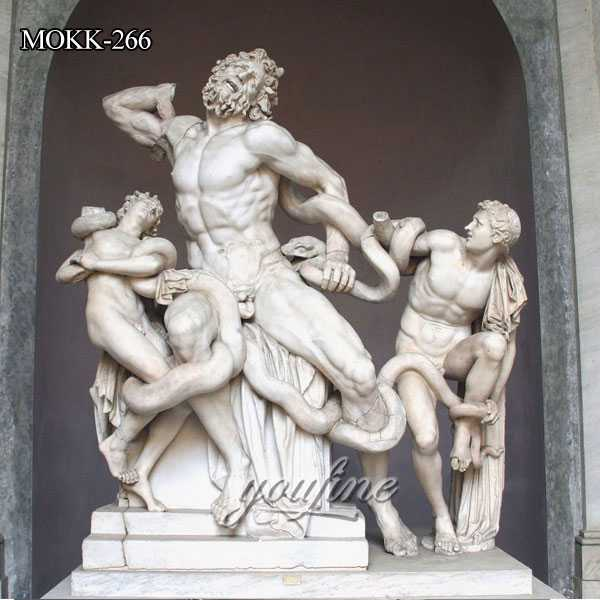 Famous Artist Greek Statue Laocoon and His Sons Sculpture MOKK-266