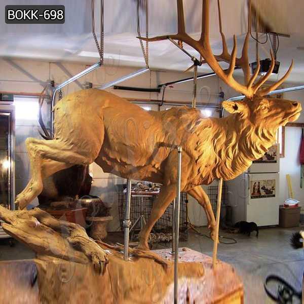 large casting elk statue for sale