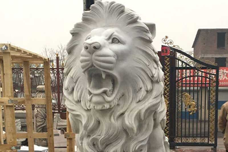 marble-carved-lion