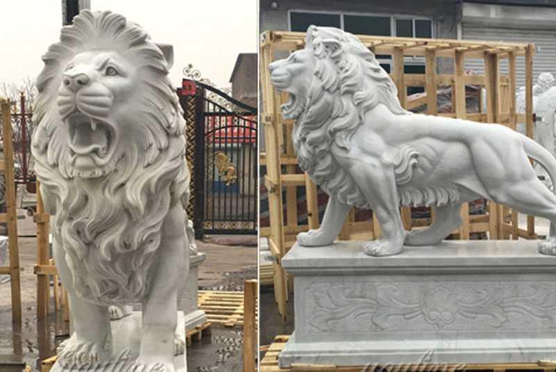 marble-lion