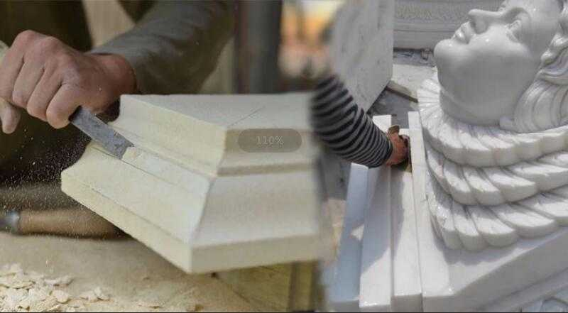 skill of carving process