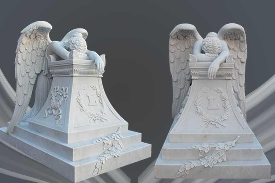 Angel Gravestone for Grave-Angel Gravestone & Headstone for