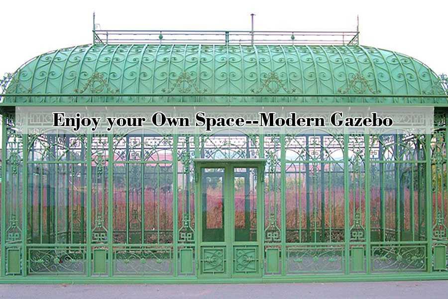 Wondrous Metal Gazebo Custom Made English Style Greenhouses Wrought Home Interior And Landscaping Ponolsignezvosmurscom