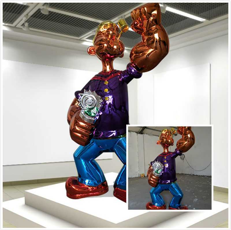 Famous Popeye Statue Replica for Sale CSS-87
