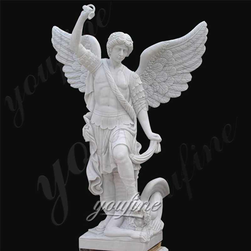 Garden-Angel-Statue-of-St-Michael