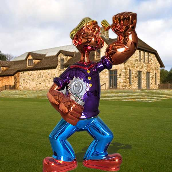 Jeff Koons Popeye Statue Replica for Sale