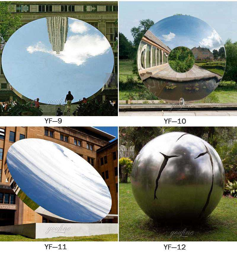 Modern Outdoor Metal Sculpture