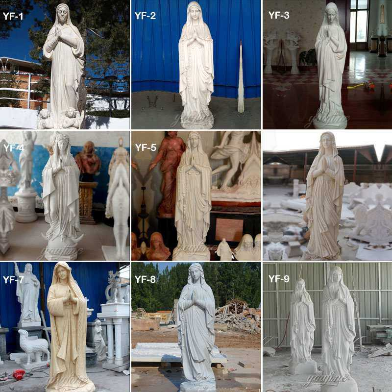 Popular Church Statue Blessed Catholic Virgin Mary Statue Our Lady of Fatima Statue
