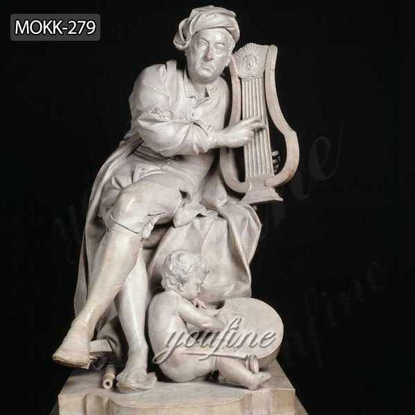 Famous Life Size Marble Statue of George Frideric Handel MOKK-279