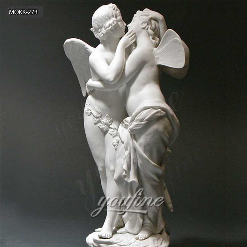Famous Marble Statue Cupid and Psyche Statue for Sale MOKK-273