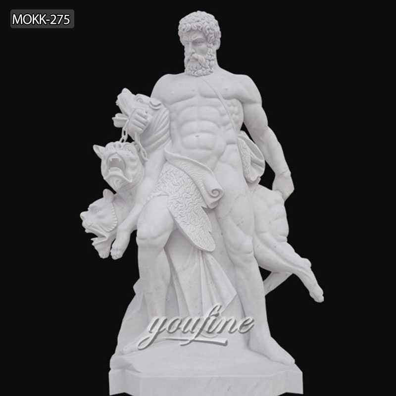 Classic Garden Statue Hercules and Cerberus Statue for Sale MOKK-275