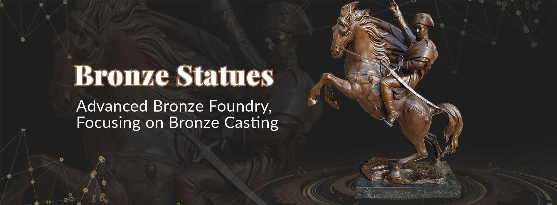 classical bronze statues Napoleon