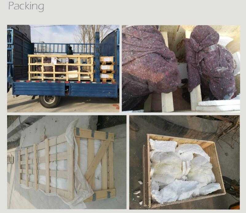 package of white marble planter
