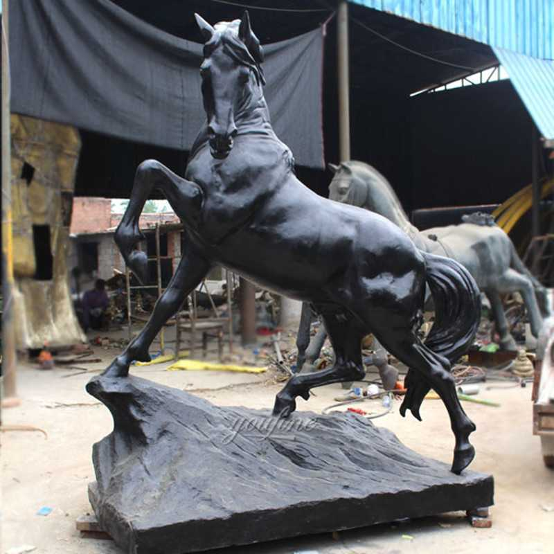 Antique Bronze Running Horse Statue for Sale