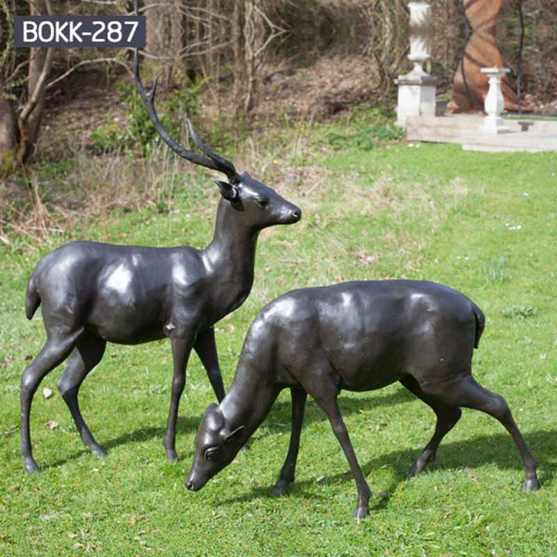 deer sculpture for sale