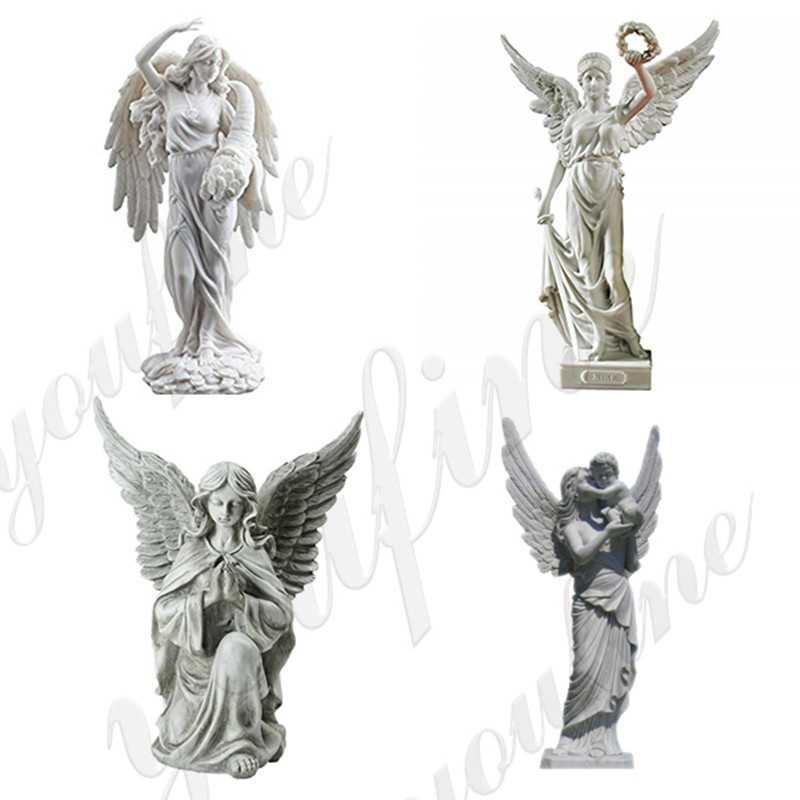 life size angel marble sculpture for sale