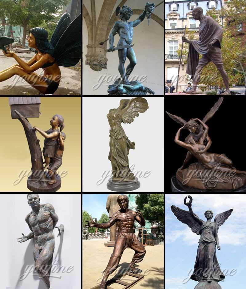 Bronze Angel's Body Statue for sale
