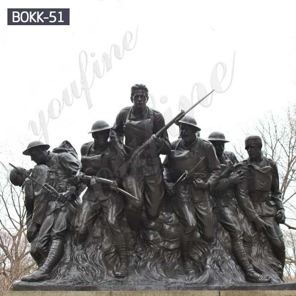 Famous Bronze Military Statues World War I Memorials Replica for Sale BOKK-51