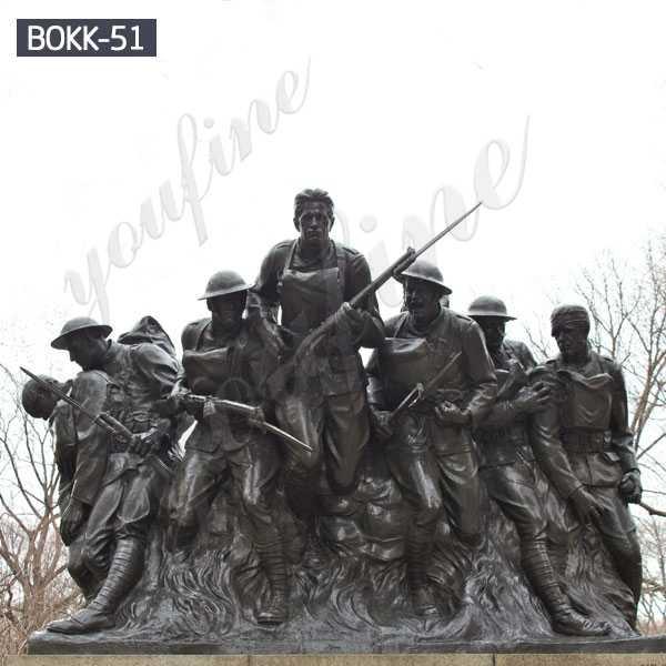 Bronze Military Statues World War I Memorials