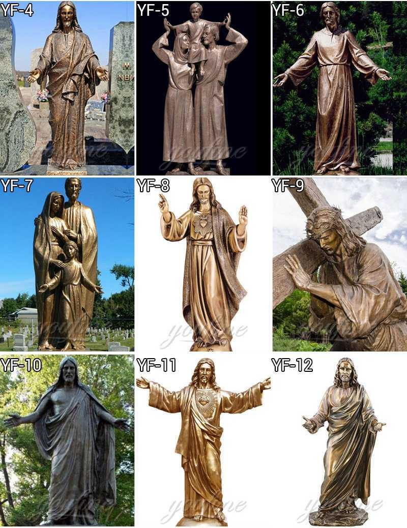 Bronze Saint Joseph Outdoor Statues on sale