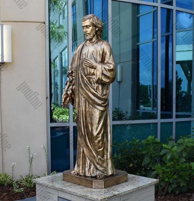 Bronze Saint Joseph Outdoor Statues