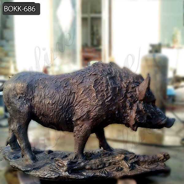 Bronze Wild Boar Statues