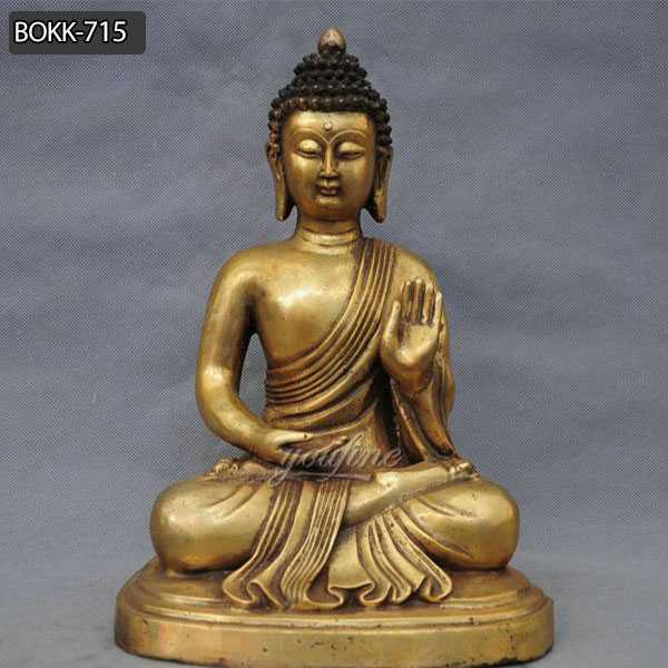 Famous China Tibetan Buddhism Bronze Shakyamuni Buddha Statue for Sale BOKK-715