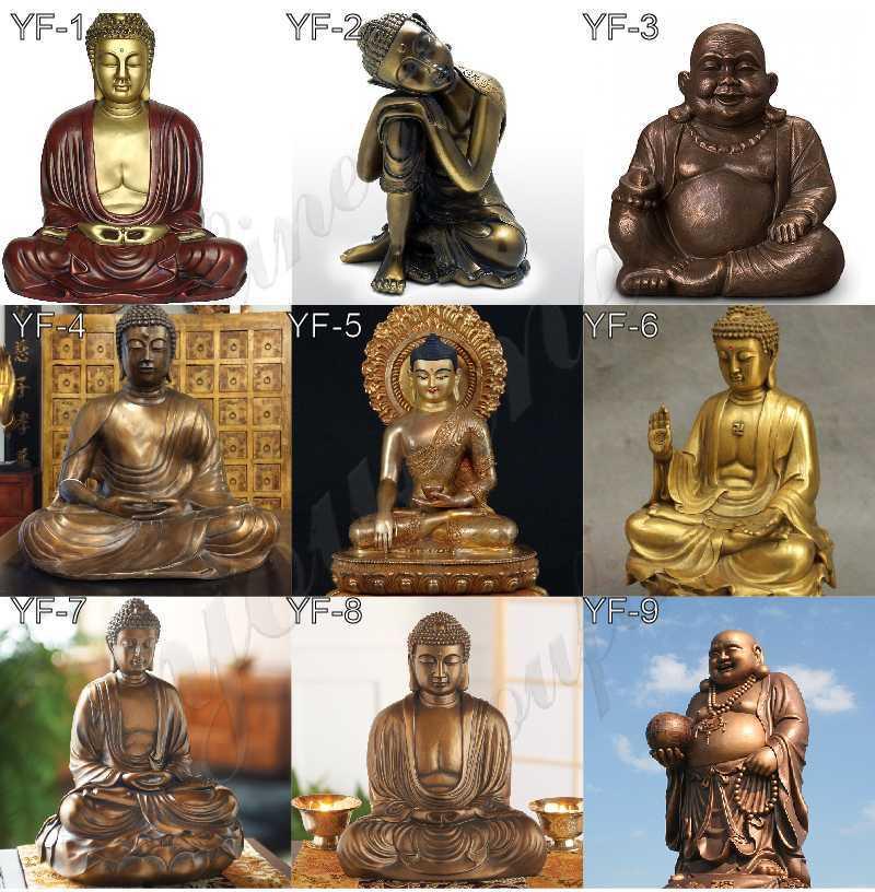 Buddhism Bronze Shakyamuni Buddha Statues on sale