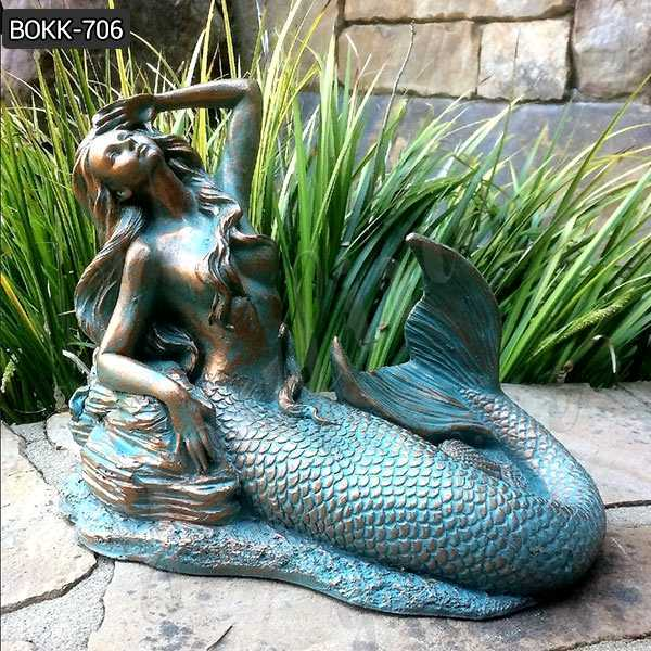 Customize Bronze Mermaid Statue for sale