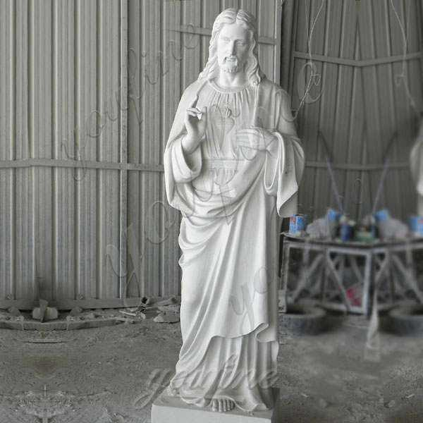 High Quality Garden Decoration Marble Jesus Sculpture for Sale CHS-298