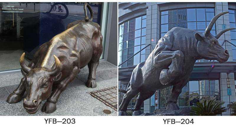 Garden Large Bronze Bull Statue Decoration