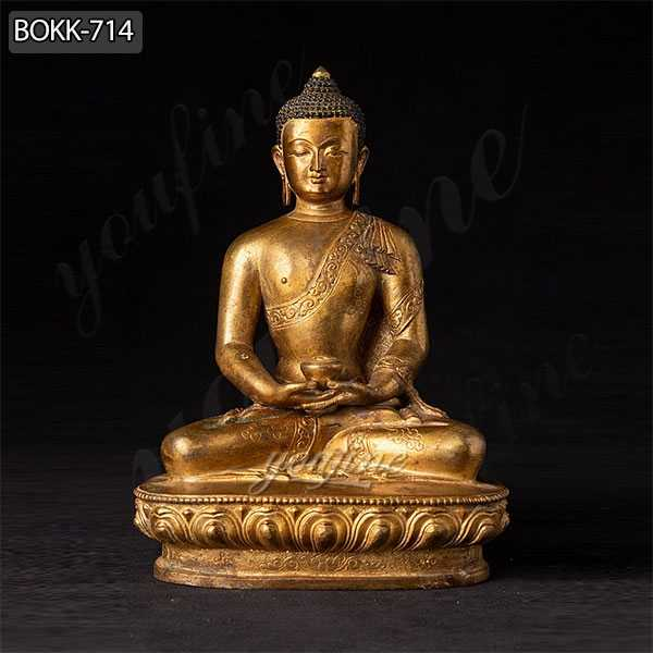 Hand Made Old Nepali Bronze Buddha Statue