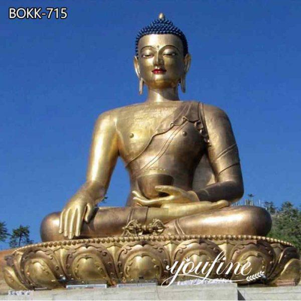 Large Bronze Shakyamuni Buddha Statue