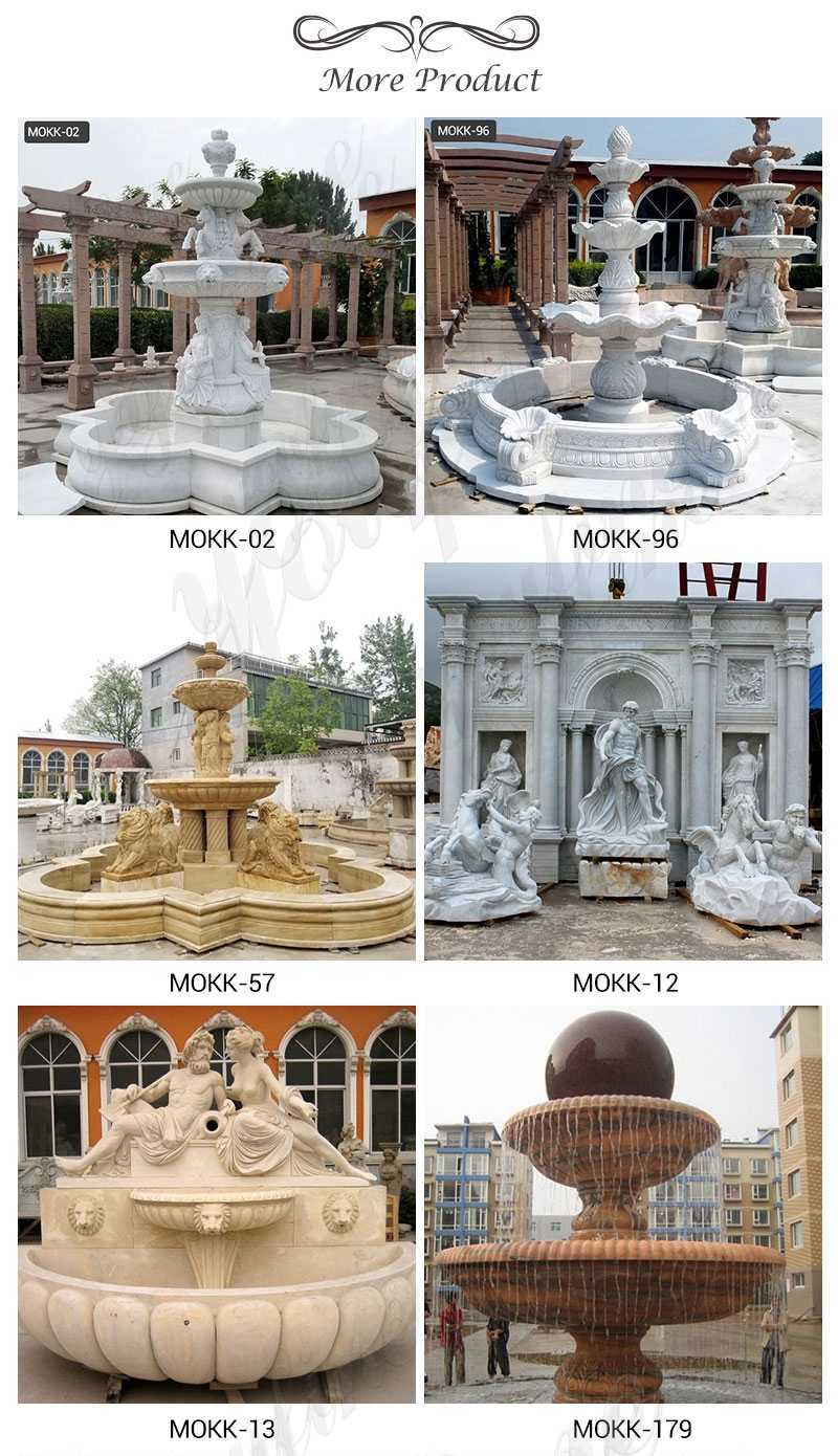 Large Outdoor Luxury Water Fountain for sale