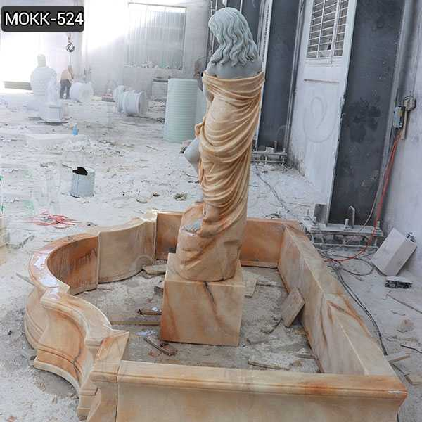 Outdoor Carving Female Statue Water Fountain for sale